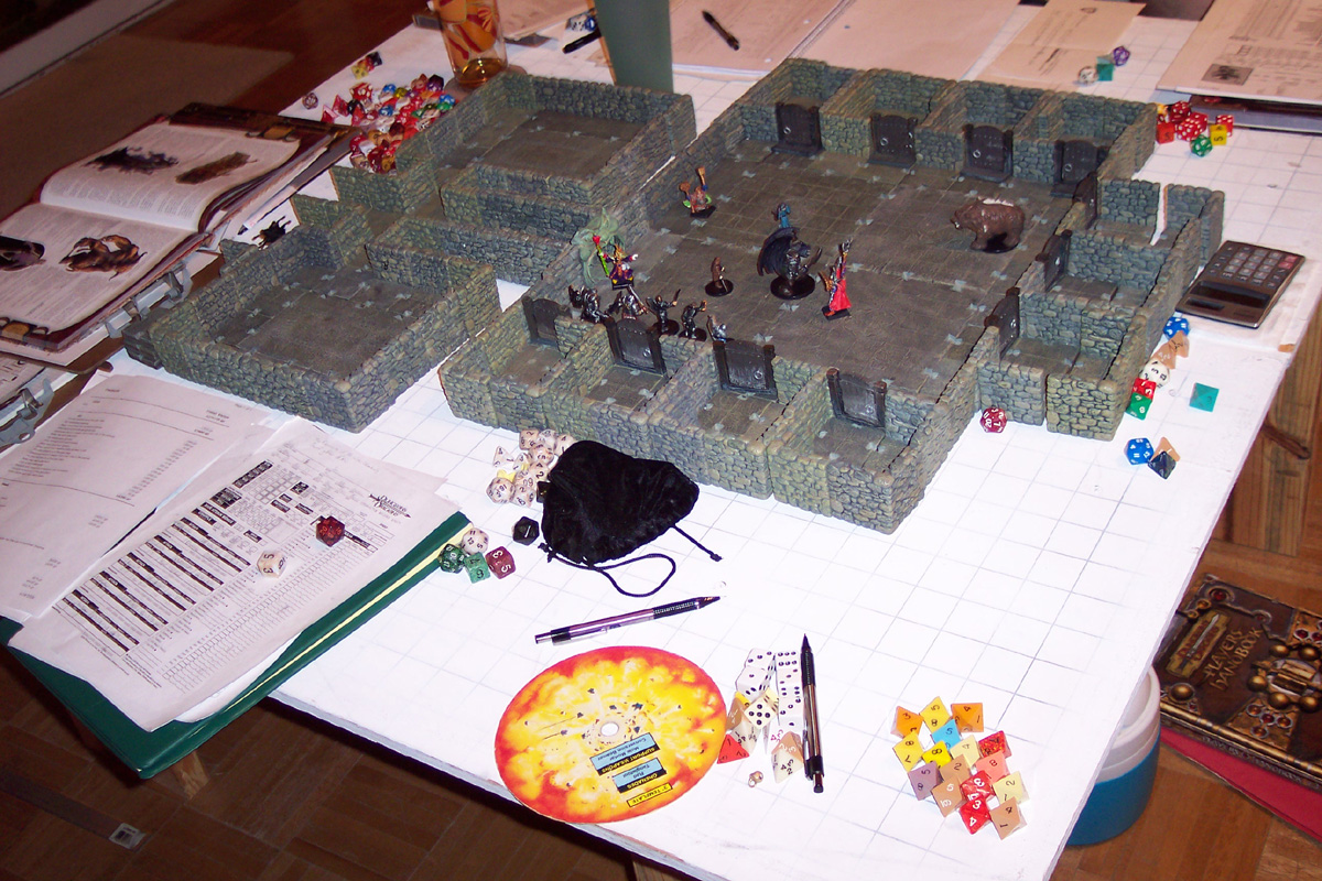 Dungeons & Dragons Maps